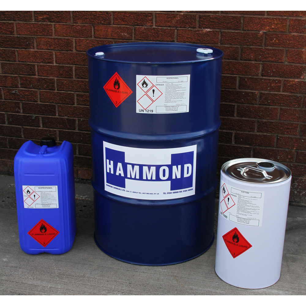 Solvents List by Product Group